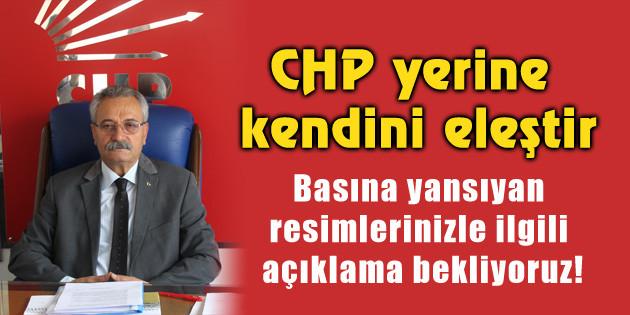 Toprak: CHP yerine kendini eleştir