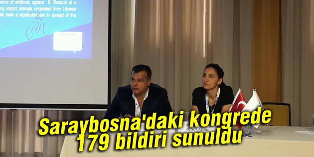 Saraybosna'daki kongrede 179 bildiri sunuldu