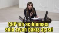 İlknur İnceöz: CHP'nin açıklaması akla ziyan bakış açısı
