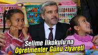Selime İlkokulu'na Öğretmenler Günü ziyareti