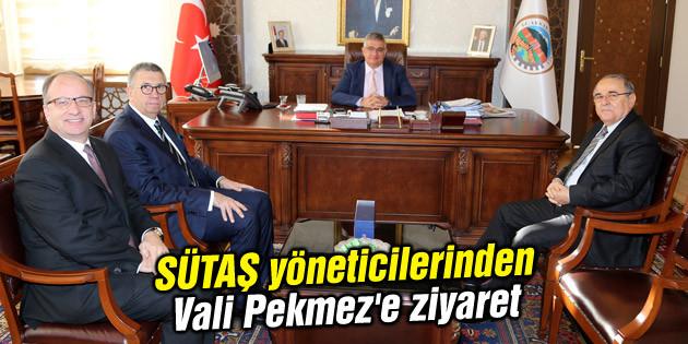 SÜTAŞ yöneticilerinden Vali Pekmez'e ziyaret