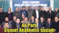 Aksaray'da Ak Parti Siyaset Akademisi başladı