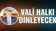Aksaray Valisi Aykut Pekmez halk günü toplantısı yapacak!