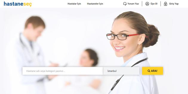 Online Hastane Araştırması