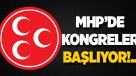 MHP'de kongreler başlıyor