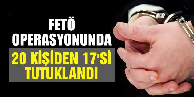 Aksaray merkezli FETÖ operasyonunda 20 tutuklama