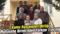 Kamu Hastaneleri Birliği Muhasebe Birimi'nden Türkiye 1'inciliği