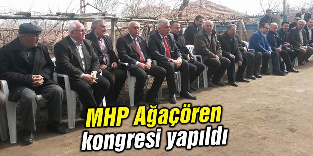 MHP Ağaçören kongresi yapıldı