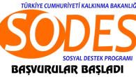 Sosyal Destek Programı SODES başvuruları başladı