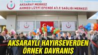 Ahmet Lütfi Efendi Aile Sağlığı Merkezi törenle açıldı