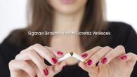 Sigarayı bırakma ilaçları ücretsiz verilecek
