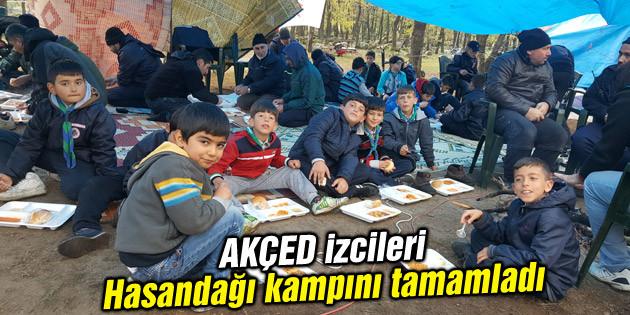 AKÇED izcileri Hasandağı kampını tamamladı