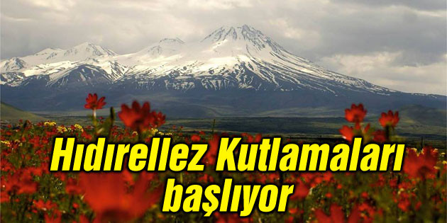 Aksaray'da Hıdırellez Kutlamaları başlıyor
