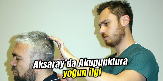 Akupunktura yoğun ilgi