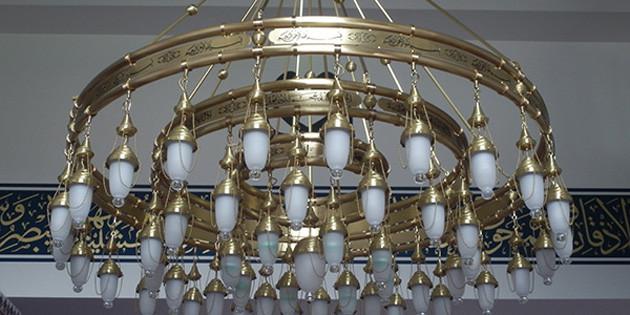 Cami Avizelerinde Şıklığı Ve Işıltıyı Yakalayın