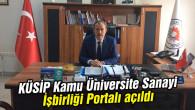 KÜSİP Kamu Üniversite Sanayi İşbirliği Portalı açıldı