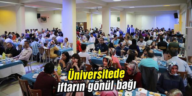 Üniversitede iftarın gönül bağı