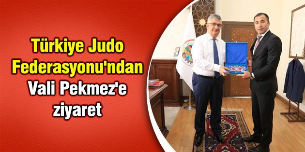 Türkiye Judo Federasyonu'ndan Vali Pekmez'e ziyaret