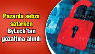 Aksaray'da pazarcı kadına 'ByLock' gözaltısı
