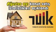 Aksaray 2017 Ağustos ayı konut satışları açıklandı