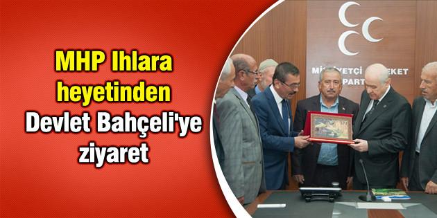 MHP Ihlara heyetinden Devlet Bahçeli'ye ziyaret