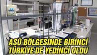 ASÜ bölgesinde birinci, Türkiye'de yedinci oldu
