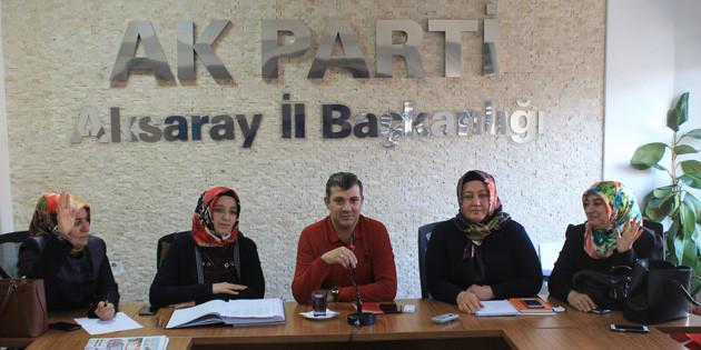 Başkan Altınsoy, Kadın Kolları ile bir araya geldi