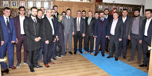 AK Parti Merkez İlçe Başkanlığı!ndan Vali Pekmez'e ziyaret