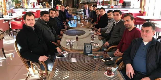 Ak Parti Aksaray yönetimi kahvaltıda buluştu