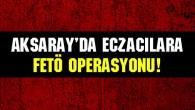 Aksaray'da eczacılara FETÖ operasyonu!