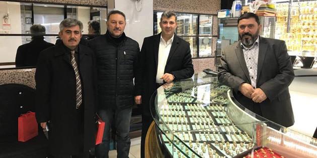 Başkan Altınsoy esnaf ziyaretlerini sürdürüyor