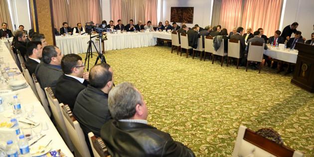 Stratejik Yatırım ve İhtiyaç Planlama toplantısı yapıldı