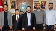 AA Konya Bölge Müdürü'nden Başkan Yazgı'ya ziyaret