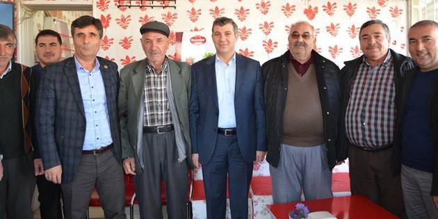 Ak Parti İl Başkanı Altınsoy, ilçe ve belde ziyaretlerine başladı