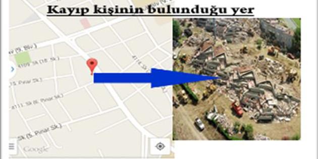 Depremde kaybolanların yerleri bu yazılımla tespit edilecek
