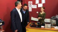 Başkan Altınsoy Güzelyurt ilçe esnafını ve vatandaşları ziyaret etti