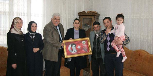 Şehit aileleri ziyaretleri devam ediyor