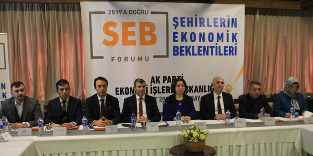 Aksaray'ın ekonomik beklentileri masaya yatırıldı