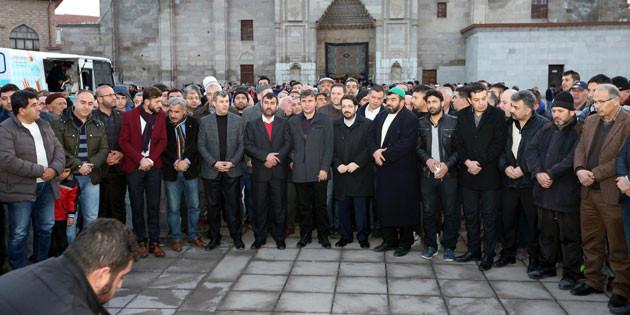 Zeytin Dalı Harekâtı'na Aksaray'dan anlamlı destek