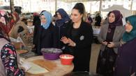 Yeşim Pekmez'den çağrı: Alışverişler Hanımeli Pazarı'ndan