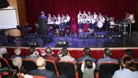Aksaray Belediyesi Çocuk Korosu'ndan nostaljik müzik dinletisi