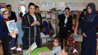 Yeşim Pekmez Hanımefendi'den öğrencilere ziyaret