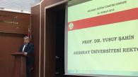 Eğitim Yönetimi Semineri Rektör Şahin'in sunumuyla tamamlandı