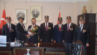 Gaziler Derneği'nden Emniyet Müdürü Karabağ'a teşekkür ziyareti
