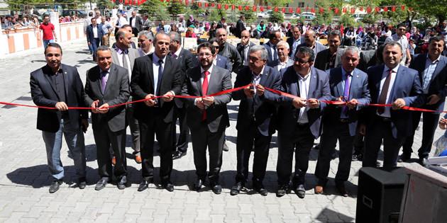 Şehit Sağlam adına Kütüphane açıldı