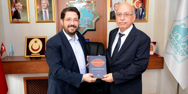 Türk Tarih Kurumu Başkanı'ndan Yazgı'ya ziyaret