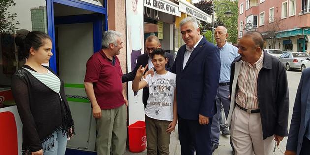 MHP adayı Kaşlı: Bizim Cumhurbaşkanı adayımız Erdoğan'dır
