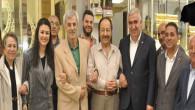 Kapalı çarşı esnafından MHP adaylarına sıcak karşılama