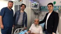 Yine bir ilk! Şahdamarı felçli hastaya stent takıldı