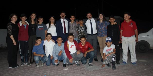 CHP adayları Taşpınar'da iftar programına katıldı